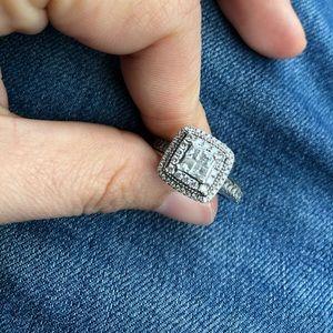 14k zales white gold wedding ring